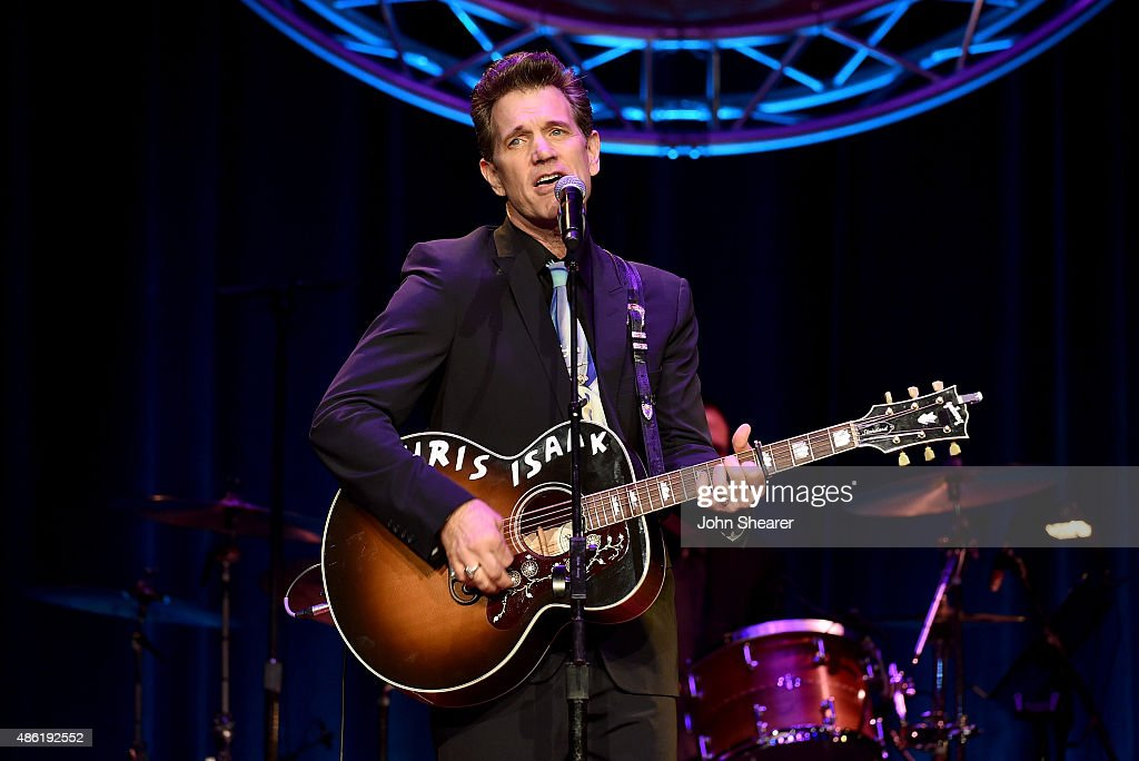 Chris Isaak performs onstage during the 9th Annual ACM Honors at the Ryman Auditorium on September 1, 2015 in Nashville, Tennessee.