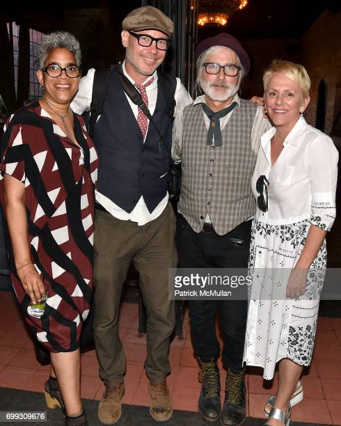 Chris Isles Shannon Greer Tom Taylor and Angel Zimick attend Walt Cessna ReMemory and Tribute at Bowery Hotel on June 12 2017 in New York City