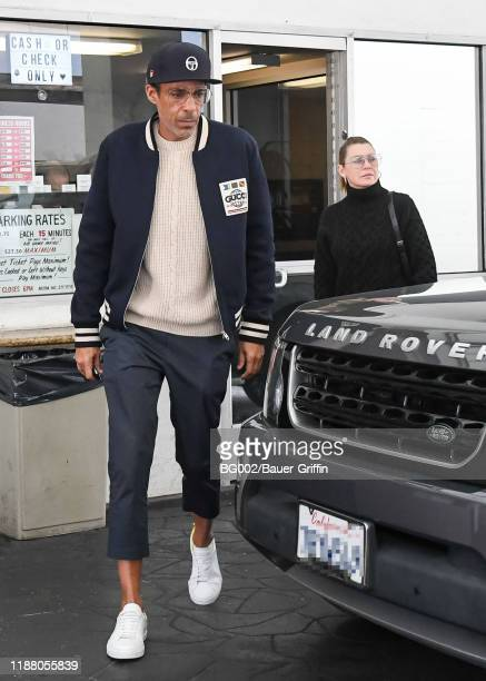 Chris Ivery and Ellen Pompeo are seen on December 11, 2019 in Los Angeles, California.