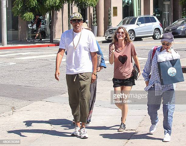 Chris Ivery and Ellen Pompeo are seen on July 13 2015 in Los Angeles California