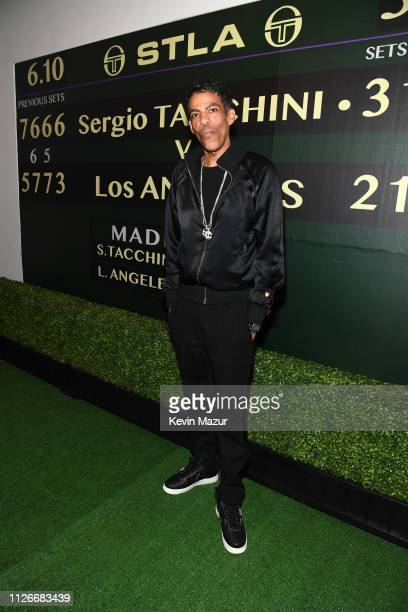 Chris Ivery attends the Sergio Tacchini STLA Launch on February 21, 2019 in Los Angeles, California.
