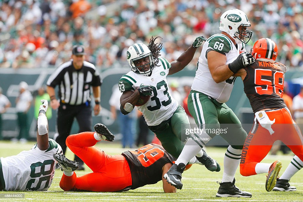 Cleveland Browns v New York Jets : News Photo