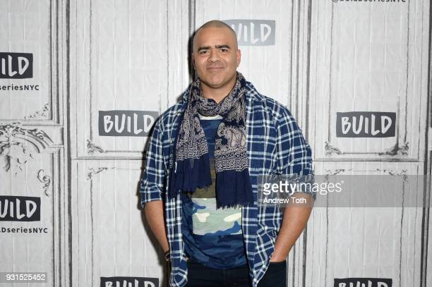 Chris Jackson visits Build to discuss the TV show 'Bull' at Build Studio on March 13 2018 in New York City