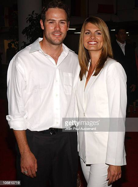 Chris Jacobs and Courtney Hansen during Petersen Automotive Museum 10Year Anniversary Gala at Petersen Museum in Los Angeles California United States