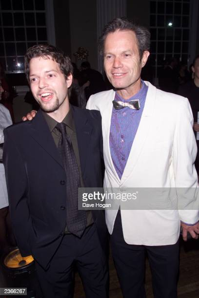 Chris Jagger and son at the premiere of Enigma in London 9/24/2001 Photo by Dave Hogan/Mission Pictures/Getty Images