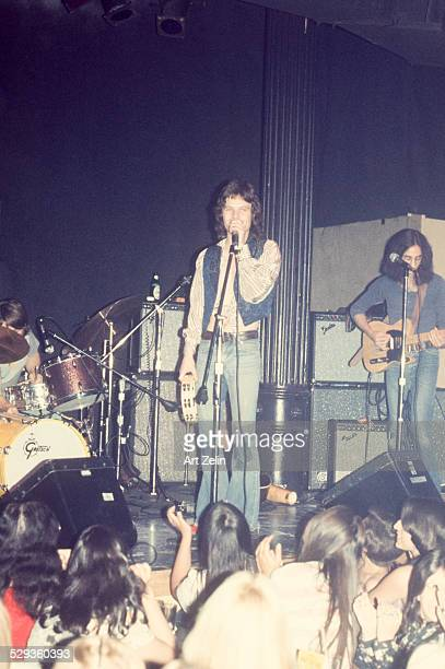 Chris Jagger Mick Jagger's brother in performance circa 1980 New York