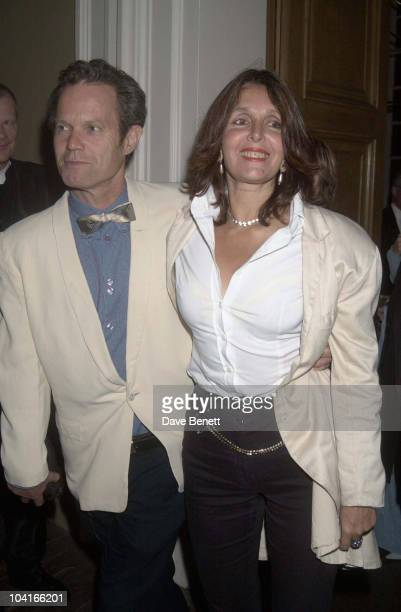 Chris Jagger Wife Kari Ann Enigma Movie Premiere Party Held At The Whitehall Banqueting Hall In London