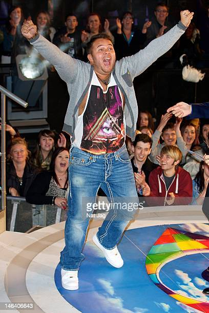 Chris James is the second housemate to be evicted from The Big Brother House 2012 at Elstree Studios on June 15 2012 in Borehamwood England