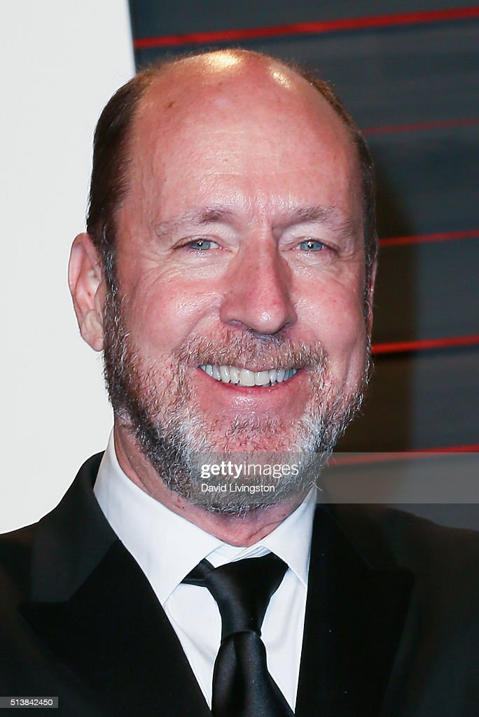 Chris Jenkins arrives at the 2016 Vanity Fair Oscar Party Hosted by Graydon Carter at the Wallis Annenberg Center for the Performing Arts on February 28, 2016 in Beverly Hills, California.