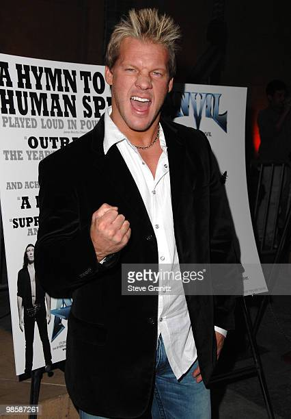 Chris Jericho arrives at the Los Angeles premiere of 'Anvil The Story Of Anvil' at The Egyptian Theatre on April 7 2009 in Los Angeles California