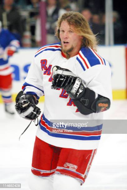 Chris Jericho during Toyota Presents Super Skate V An AllStar Charity Hockey Game Featuring the New York Rangers and other Celebrities that have...