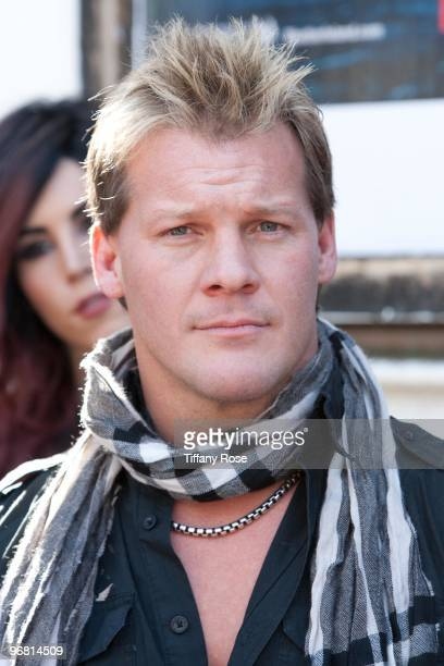 Chris Jericho of WWE attends the 2nd Annual Golden Gods Awards Nominees and Press Conference at The Rainbow Bar and Grill on February 17 2010 in Los...
