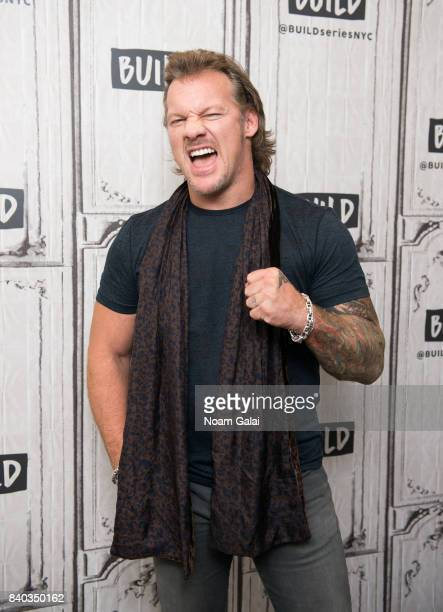 Chris Jericho visits Build Series to discuss his new book 'No Is a FourLetter Word' at Build Studio on August 28 2017 in New York City