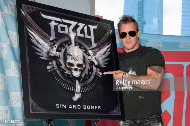 Chris Jericho visits JR Music World on September 13 2013 in New York City