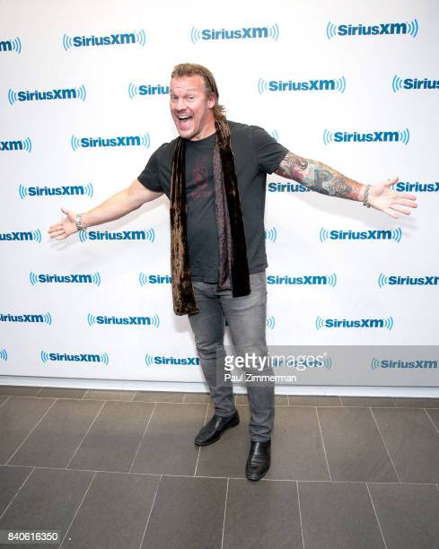 Chris Jericho visits the SiriusXM Studios on August 29 2017 in New York City