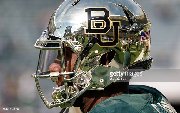 Chris Johnson of the Baylor Bears stands on the field before the Bears take on the Texas Longhorns at McLane Stadium on December 5 2015 in Waco Texas