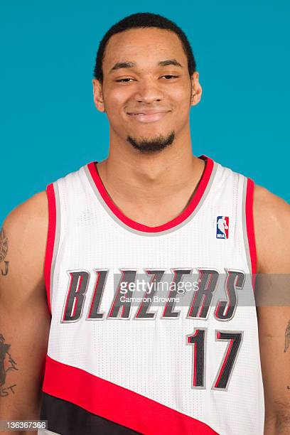 Chris Johnson of the Portland Trail Blazers poses for a portrait during Media Day on December 16 2011 at the Rose Garden Arena in Portland Oregon...