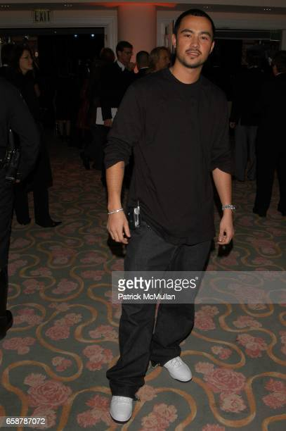 Chris Jones attends Clive Davis preGrammy Awards party at Beverly Hills Hotel on February 7 2004 in Los Angeles CA