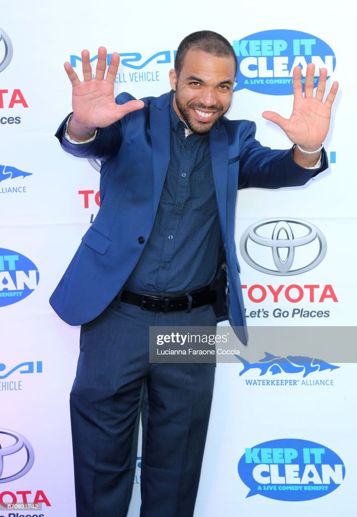 Chris Jones attends Keep It Clean Live Comedy Benefit for Waterkeeper Alliance at Avalon Hollywood on April 20, 2017 in Los Angeles, California.