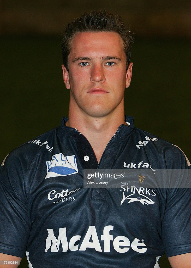Chris Jones of Sale Sharks during the Sale Sharks Photocall held at the Carrington Training Complex on August 14, 2007 in Carrington, England.