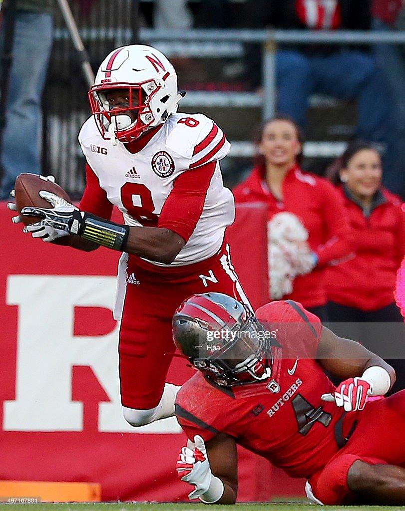 Nebraska v Rutgers : News Photo