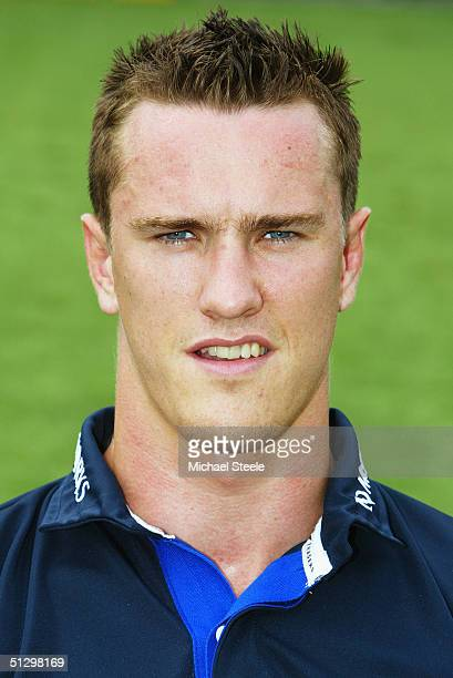 Chris Jones pictured during the Sale Sharks squad photocall at Edgeley Park on August 03, 2004 in Stockport, England.