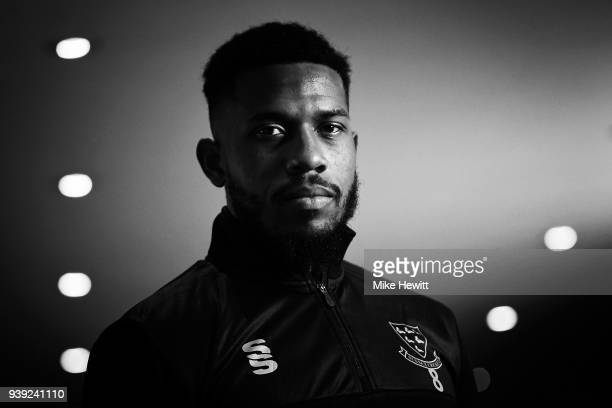 Chris Jordan of Sussex poses for a portrait during a Sussex CCC photocall at The 1st Central County Ground on March 28 2018 in Hove England