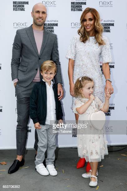 The Judd family showcases designs during the VAMFF 2017 NEXT 'Under The Blade' runway show on March 16 2017 in Melbourne Australia