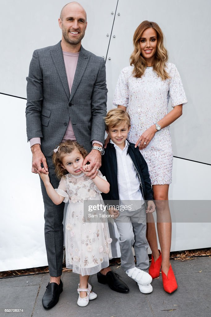 The Judd family showcases designs during the VAMFF 2017 NEXT 'Under The Blade' runway show on March 16, 2017 in Melbourne, Australia.