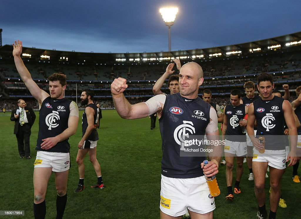 AFL First Elimination Final - Richmond v Carlton : News Photo