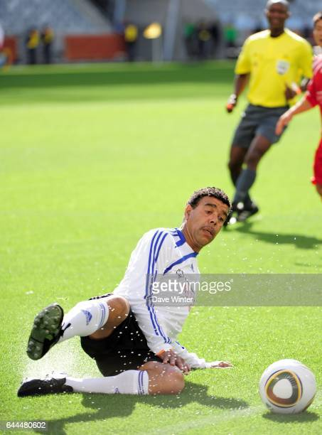 Chris KAMARA Match de Charite avant Argentine / Allemagne 1/4 de Finale de la Coupe du Monde 2010 Le Cap Afrique du Sud Photo Dave Winter / Icon Sport
