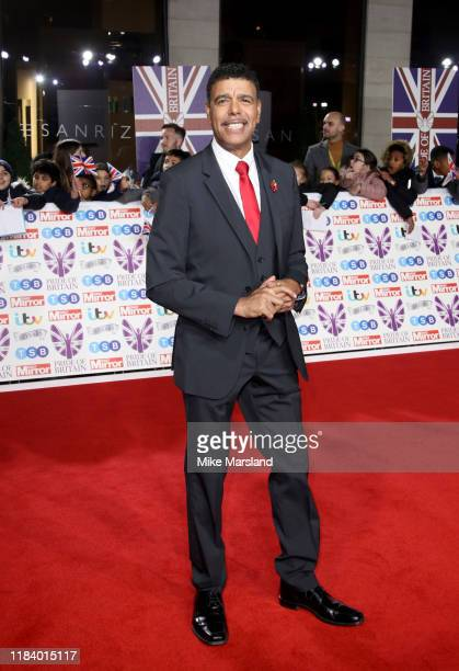 Chris Kamara attends Pride Of Britain Awards 2019 at The Grosvenor House Hotel on October 28 2019 in London England