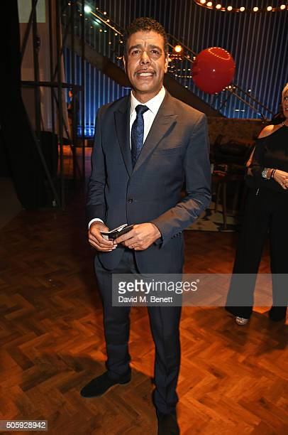 Chris Kamara attends the 21st National Television Awards at The O2 Arena on January 20 2016 in London England