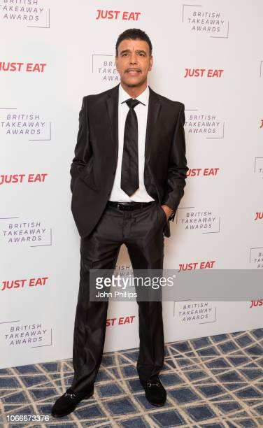 Chris Kamara attends the British Takeaway Awards in association with Just Eat at The Savoy Hotel on November 05 2018 in London England