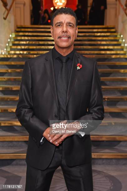 Chris Kamara attends the Ethnicity Awards 2019 at The Grand Connaught Rooms on October 25 2019 in London England