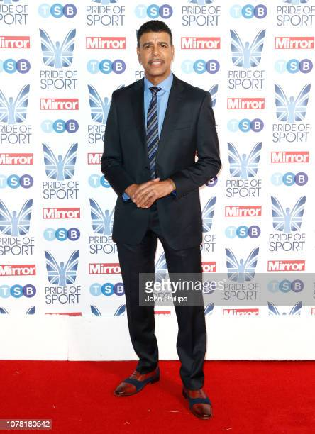 Chris Kamara attends the Pride of Sport awards 2018 at Grosvenor House on December 06 2018 in London England