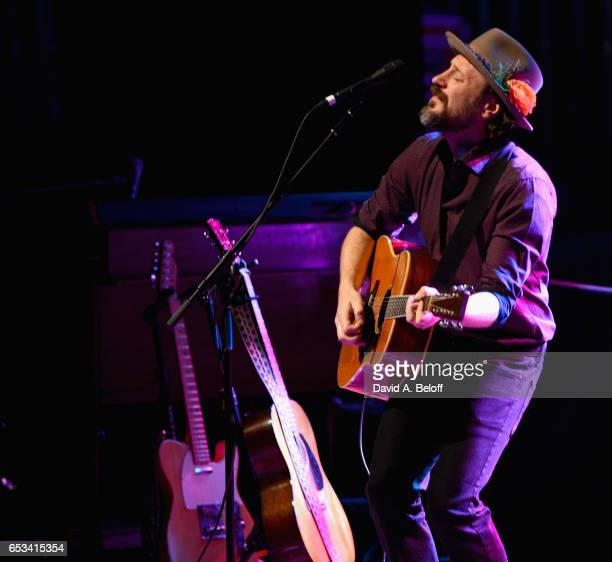 Chris Kasper opens for Amos Lee at Sandler Center For The Performing Arts on March 14 2017 in Virginia Beach Virginia