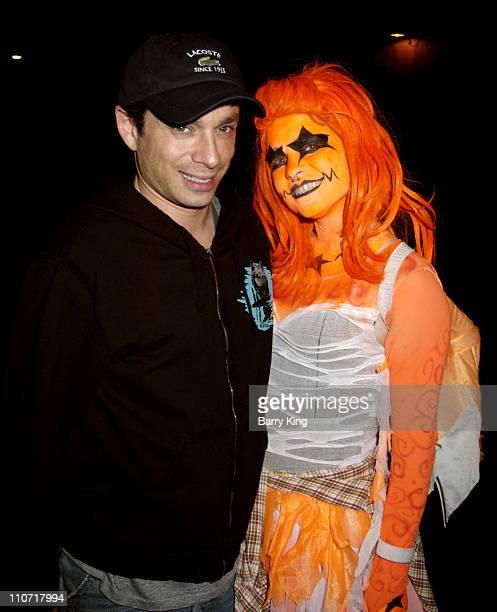 Chris Kattan during Chris Kattan Visits Knott's Scary Farm's Halloween Haunt October 31 2005 at Knott's Berry Farm in Buena Park California United...