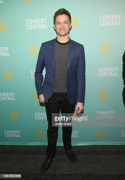 Chris Kelly attends the 2019 Comedy Central Press Day on January 11 2019 in Hollywood California
