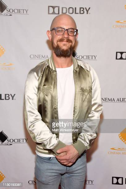 Chris Kimmerer attends the 55th Annual Cinema Audio Society Awards at InterContinental Los Angeles Downtown on February 16 2019 in Los Angeles...