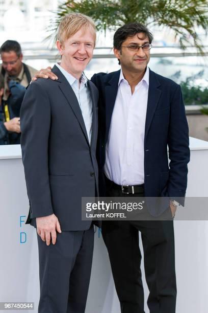 Chris King et Asif Kapadia lors du photocall du film Amy' pendant le 68eme Festival du Film Annuel au Palais des Festivals le 16 mai 2015 Cannes...