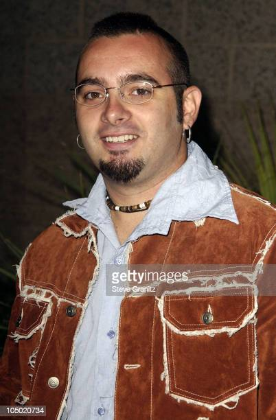 Chris Kirkpatrick of 'N Sync during 2002 Billboard Music Awards Arrivals at MGM Grand Arena in Las Vegas Nevada United States