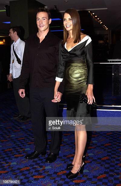 Chris Klein and Katie Holmes during 2003 Toronto International Film Festival 'Pieces of April' Premiere at Varsity 8 in Toronto Ontario Canada