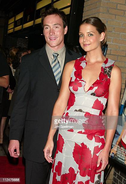Chris Klein and Katie Holmes during 'Pieces of April' New York City Premiere at Landmark's Sunshine Theater in New York City New York United States