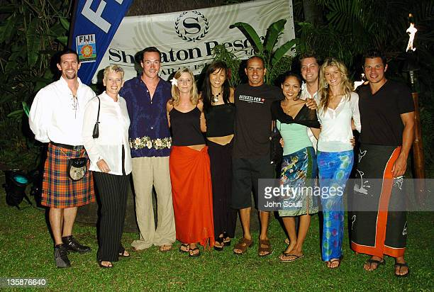 Chris Klein Megan Wadley Director of Outreach Kelly Hu Kelly Slater Lisa Ann Cabasa Lance Bass Marisa Miller and Nick Lachey