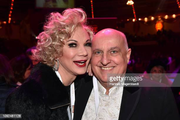 Chris Kolonko and Axel Munz during the second show premiere of the winter season as part of the 100th anniversary celebrations at Circus Krone on...
