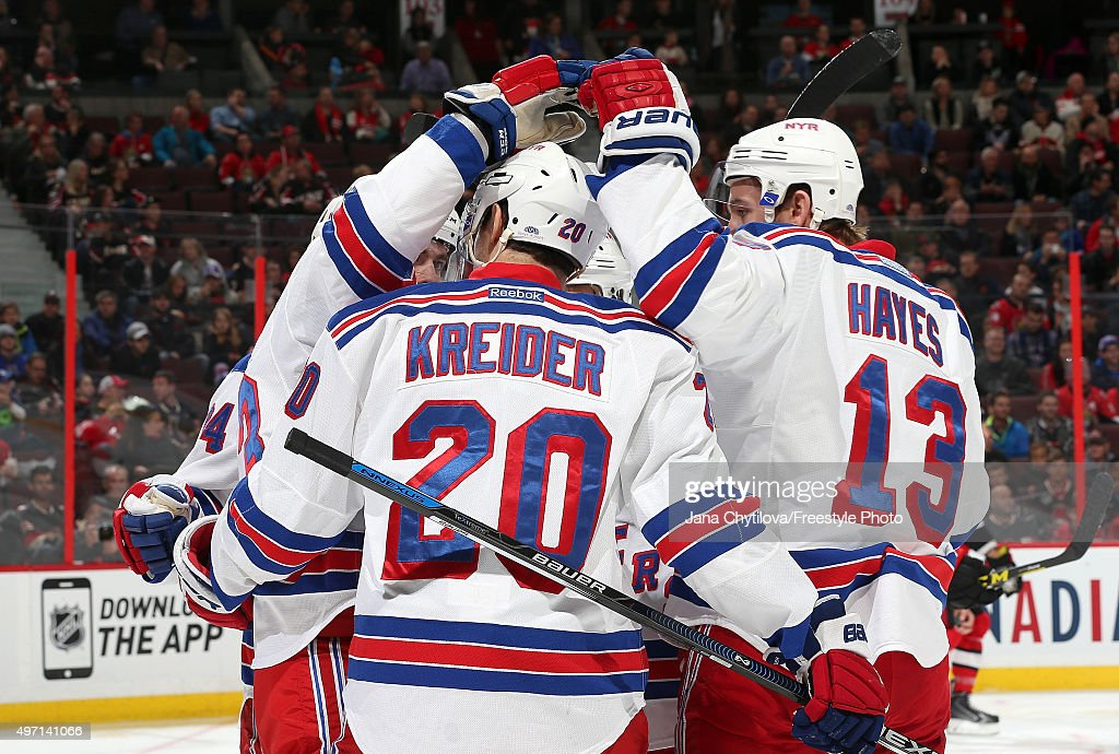 New York Rangers v Ottawa Senators : News Photo