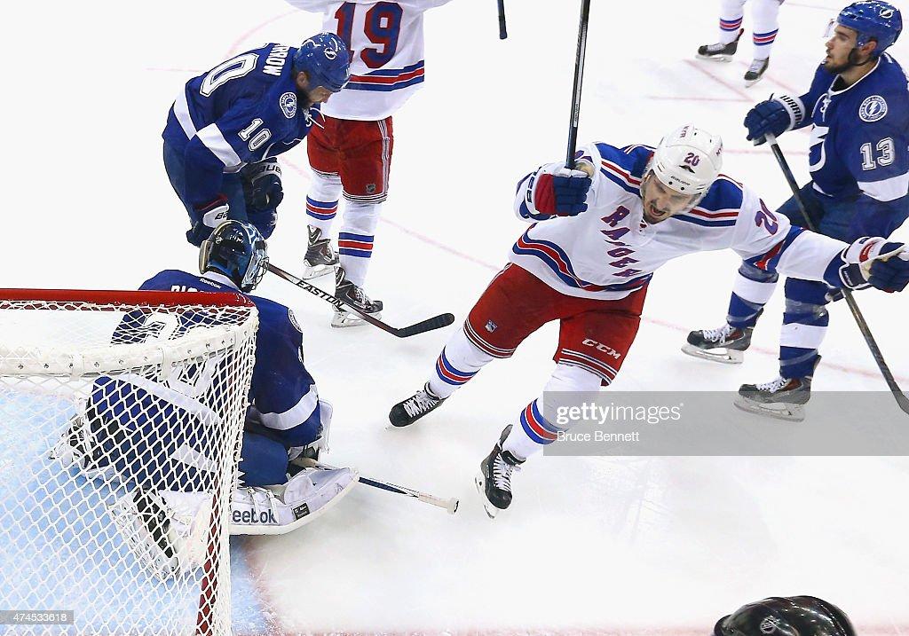 New York Rangers v Tampa Bay Lightning - Game Four