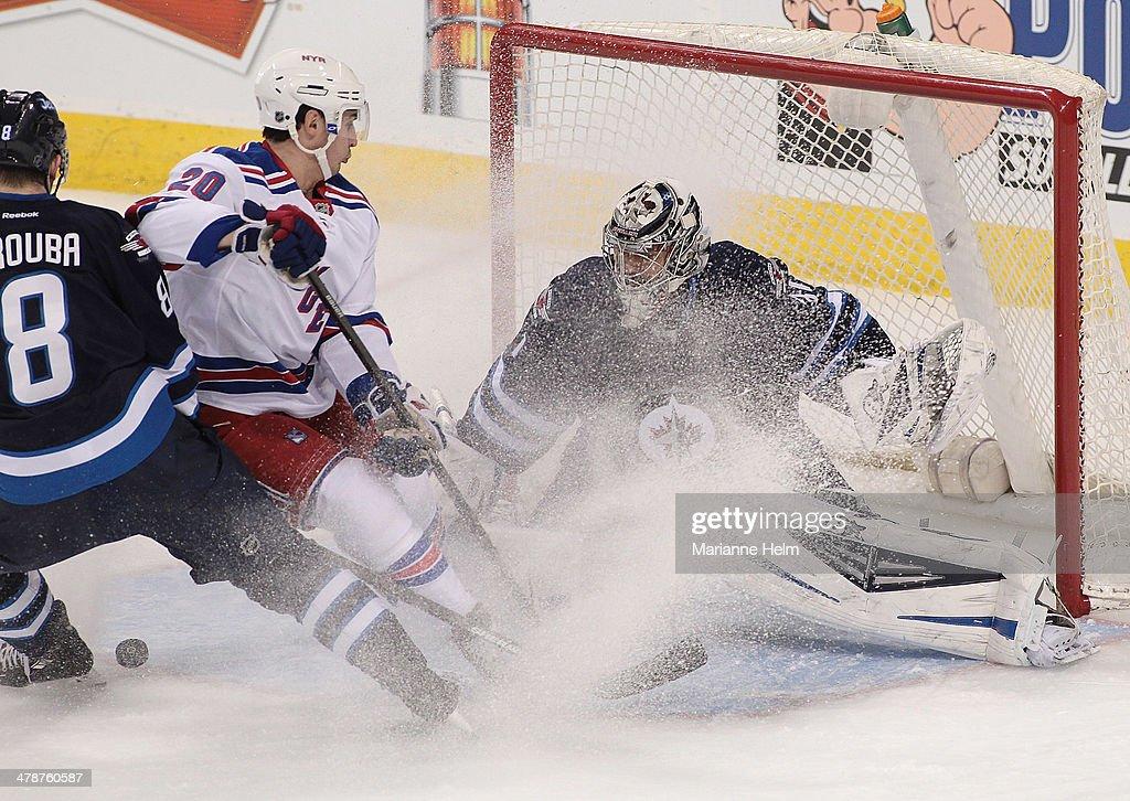 New York Rangers v Winnipeg Jets : News Photo