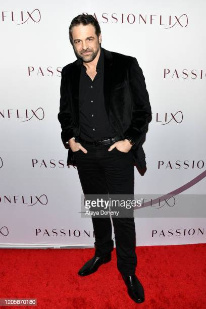 Chris L McKenna attends Passionflix's The Will Los Angeles Premiere on February 12 2020 in Culver City California